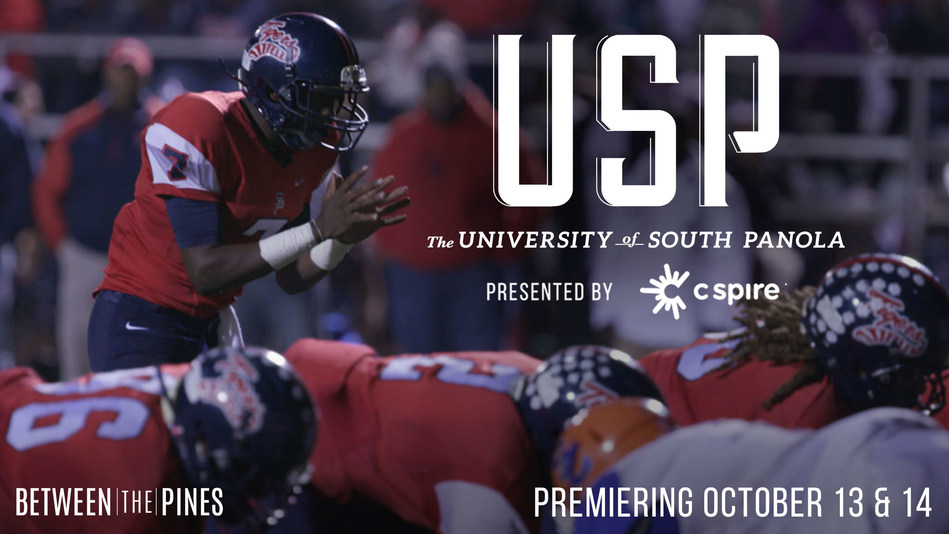 "The first episode of a new original sports documentary series called ""Between the Pines,"" tracing the rich history, tradition and passion behind Mississippi's greatest sports stories, will air on television stations across the state and in Memphis next weekend.  C Spire is presenting sponsor of the series, which was created by Bash Brothers Media.  ""University of South Panola"" tells the story of one of the greatest high school football dynasties in history and will air on Oct. 13 and 14."